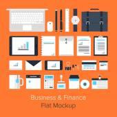Business icons — Vector de stock