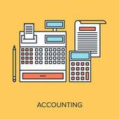 Accounting — Stock Vector