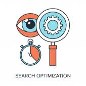 Search Optimization — Stock Vector