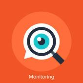 Monitoring — Stock Vector