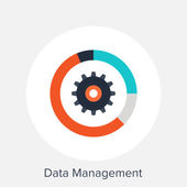 Data Management — Stock Vector