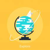 Explore — Stock Vector