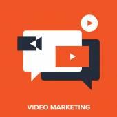 Видео маркетинг — Cтоковый вектор
