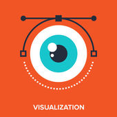 Visualization — Stock Vector