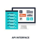 API interface — Stock Vector