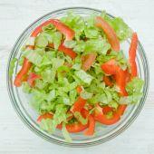 Dietary vegetable salad — Stock Photo