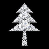 Julgran symbol — Stockfoto