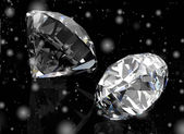 Two beautiful Diamonds — Stock Photo