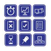 Business Icons collection — Stock Vector