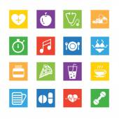 Set of Medical Icons — Stock Vector