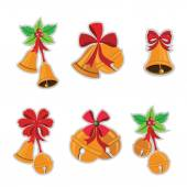 Collection of Jingle bells — Stock Vector