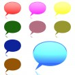 Collection of Chat bubbles — Stock Photo #72006279