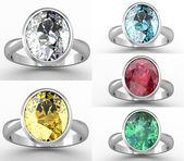 最高の結婚指輪のセット — ストック写真