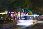 Night life in Alanya — Stock Photo