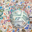 Sale of postage stamps — Stock Photo #59690579