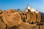 Hanuman temple in Hampi — Zdjęcie stockowe