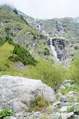 Cascade in La Fouly — Stock Photo