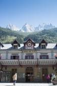 Chamonix station — Stock Photo