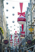 St. Christopher's Place xmas — Stock Photo