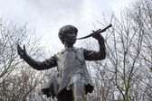 Statue of Peter Pan — Stock fotografie