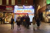 Half price theatre tickets — Stock Photo