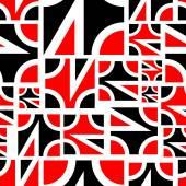 Абстракция геометрических бесшовные — Cтоковый вектор