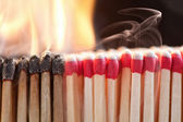 Matchstick Ignition — Stock Photo