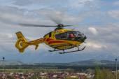 Emergency helicopter EC-135 — Stock Photo