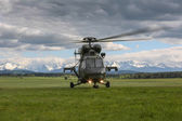 PZL W3A Sokol Helicopter — Stock Photo