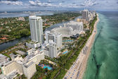 Fort Lauderdale aerial view — Stock Photo