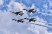 United States Air Force Thunderbirds — Foto de Stock