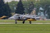 Jas-39 Gripen in Caslav — Stock Photo