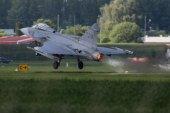 Jas-30 Gripen Take Off — Stock Photo