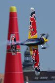 Red Bull Air Race v Budapešti — Stock fotografie