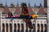Red Bull Air Race i Budapest — Stockfoto
