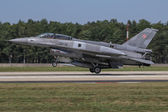 F-16 Figting Falcon of Polish Air Force — Stock Photo