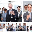 Business people celebrating success — Stock Photo #53901981