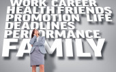 Focused businesswoman — Stock Photo