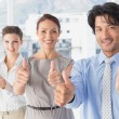Business team standing all together — Stock Photo #53916877