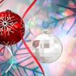 Christmas baubles decorations — Stock Photo #56892291
