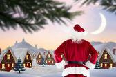 Composite image of santa claus — Stock Photo