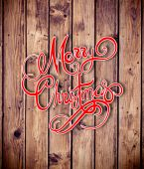Composite image of logo wishing everyone a merry christmas — Stock Photo