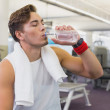 Fit man taking a break from working out — Stock Photo #56905279