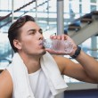 Fit man taking a break from working out — Stock Photo #56910355