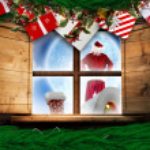 Santa delivers presents — Stock Photo #57150055