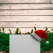 Fir branch christmas decoration garland — Stock Photo #57153795