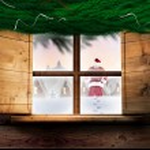 Santa delivers presents — Stock Photo #57155053