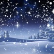 Composite image of snow falling — Stock Photo #57156965