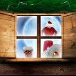 Santa delivers presents — Stock Photo #57159565