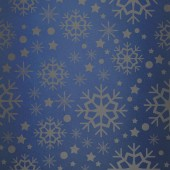 Snowflake pattern against blue vignette — Stock Photo